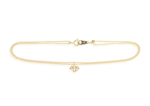 AT-1/G - Double Chain Ankle Bracelet
