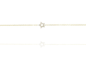 BG-21/G - Chain Bracelet with Star