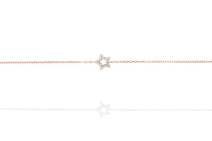 BG-21/R - Chain Bracelet with Star