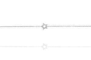 BG-21/S - Chain Bracelet with Star