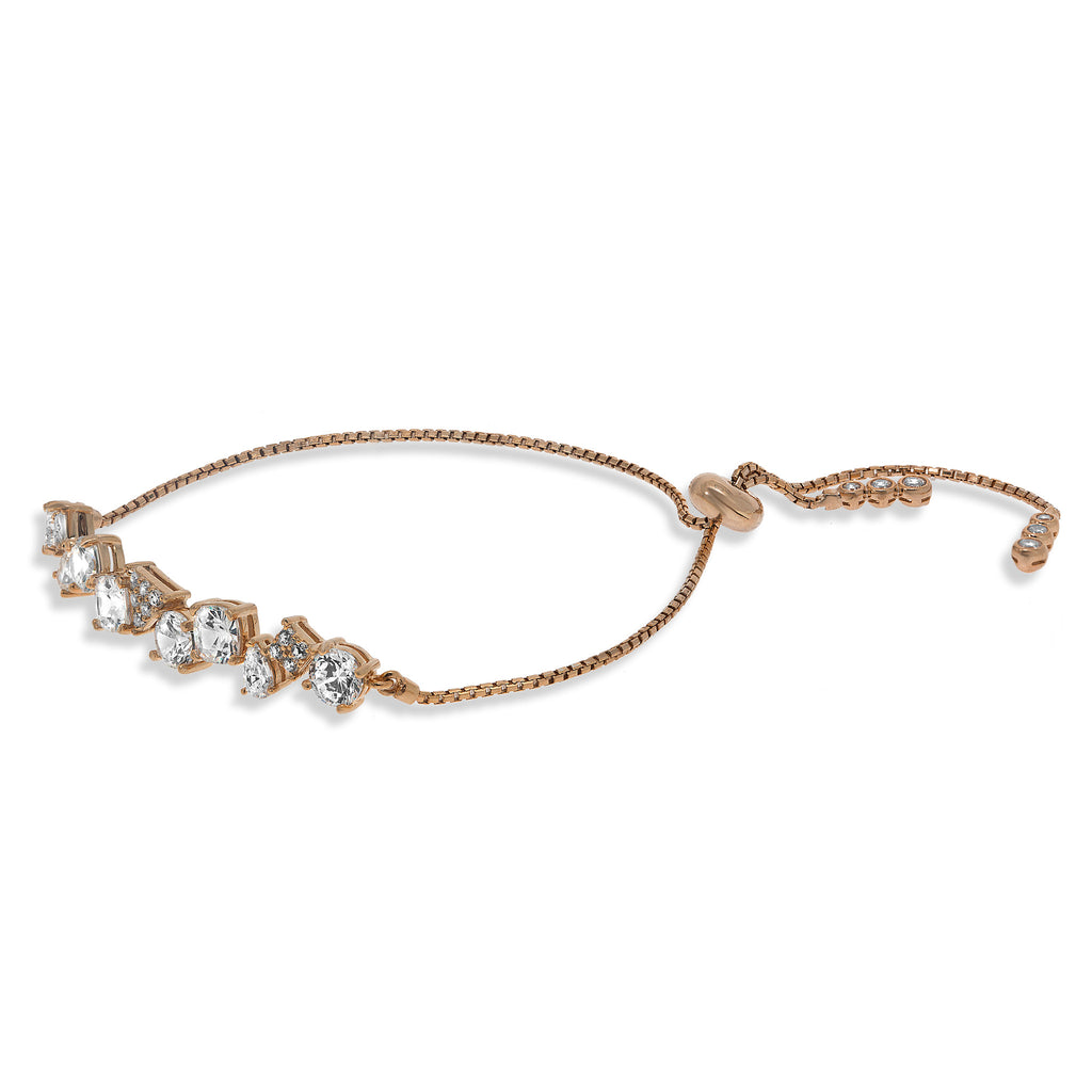 BH-1/R - Asymmetric Adjustable Tennis Bracelet