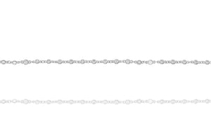 BK-46/S - Chain and Cubic Zirconia Bracelet
