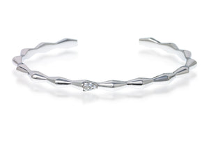 BT-2/S - Contemporary Bangle in Sterling Silver