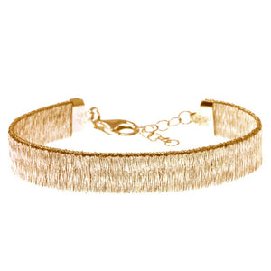 BXA-24/G - Gold Bracelet Textured Finish