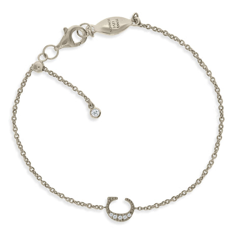 "BT-26/S/C - Initial ""C"" Bracelet adjustable length.(NEW)"