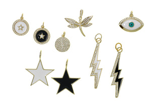 CHM-3 - Selection of Charms for Chain Necklaces (NW-1/ NW-2 / NW-3 / NW-4)