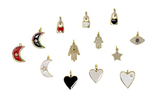 CHM-4 -  Selection of Charms for Chain Necklaces (NW-1/ NW-2 / NW-3 / NW-4)