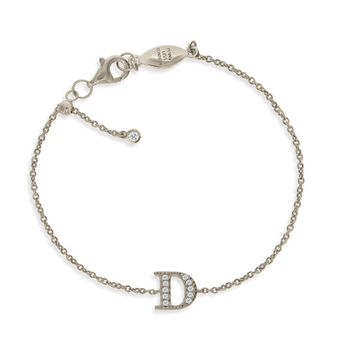 "BT-26/S/D - Initial ""C"" Bracelet adjustable length.(NEW)"