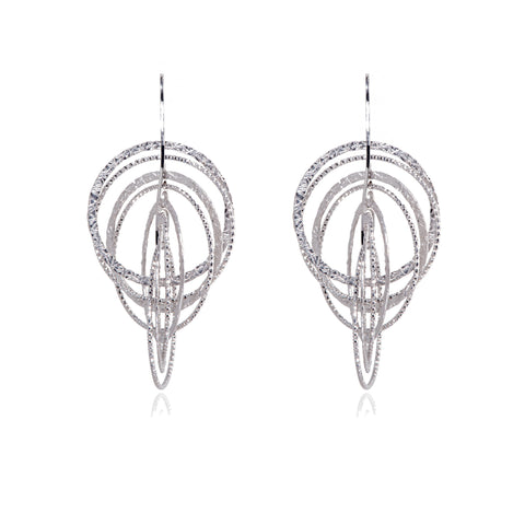 EX-036/S  - Diamond Cut 3D earrings