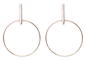 EG-1/R - Plain Hoop Earrings