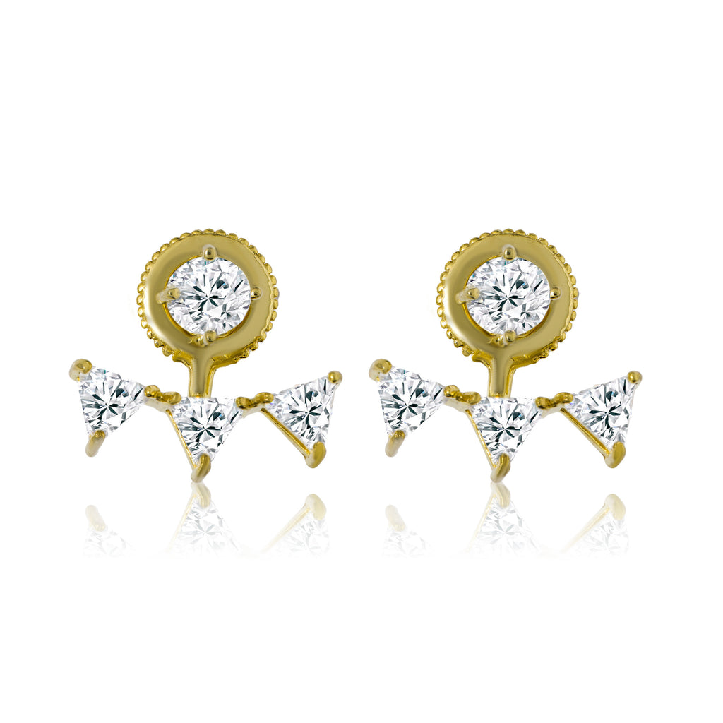 EH-77/G - CZ Earrings
