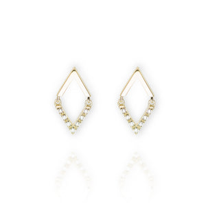 ET-20/G - Diamond Shaped Earrings