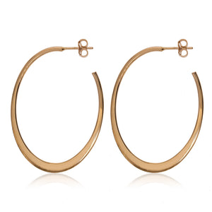 EX-81/R - Large Open Hoop Earrings