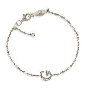 "BT-26/S/G - Initial ""G"" Bracelet Adjustable Size"