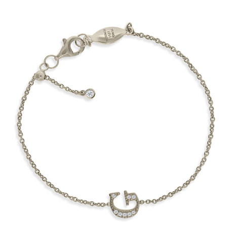 "BT-26/S/G - Initial ""G"" Bracelet adjustable length.(NEW)"