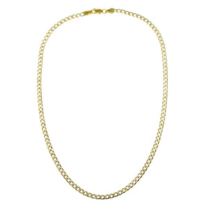 NA-13/GS - Two Tone Gold and Silver Chain Necklace