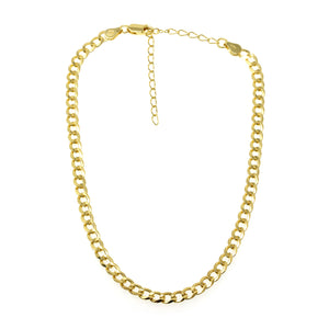 NA-16/G - Choker Chain Necklace