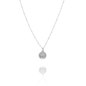 NE-6/S - Short Chain with Two Coin Pendant