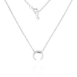 NG-1/S - Chain Necklace with Crescent Pendant