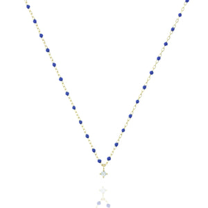 NG-10/GBL -  Short Chain and Bead Necklace (New colour)