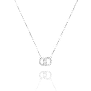 NG-7/S - Intertwined Circle Necklace