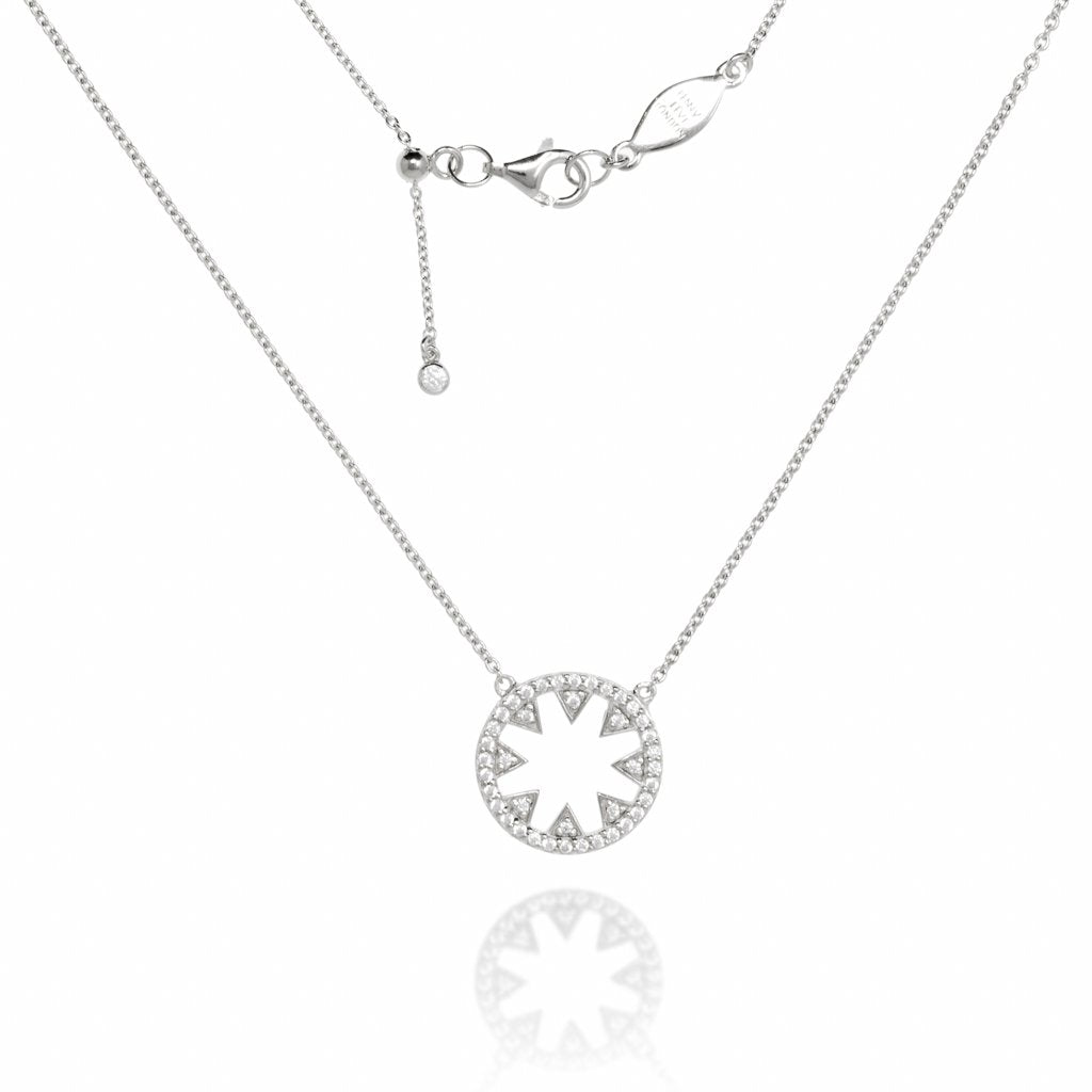 NT-10/S - Chain and Star Pendant Necklace
