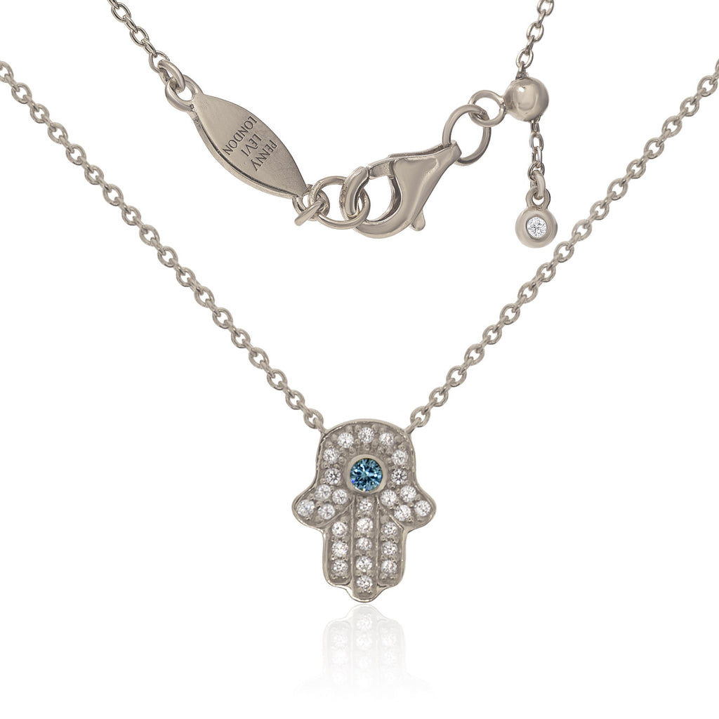 NT-201/S - Chain and Hamsa Necklace