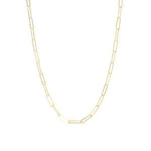 NW-3/L - Gold Filled Chain Necklace in Various Lengths (Large)