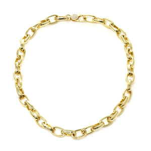 NW-9/G - Gold-filled Chunky Chain Necklace