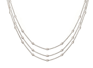 NX-82/S - Short Three Strand Necklace