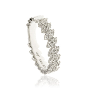 RT-19/S - Pave Leaf Ring