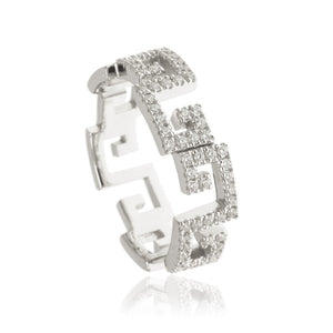 RT-22/S - Zig Zag Pave Ring