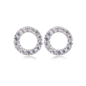 EK-45/S -  Small Open Stud Earrings