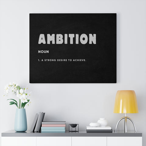 Definition of AMBITION