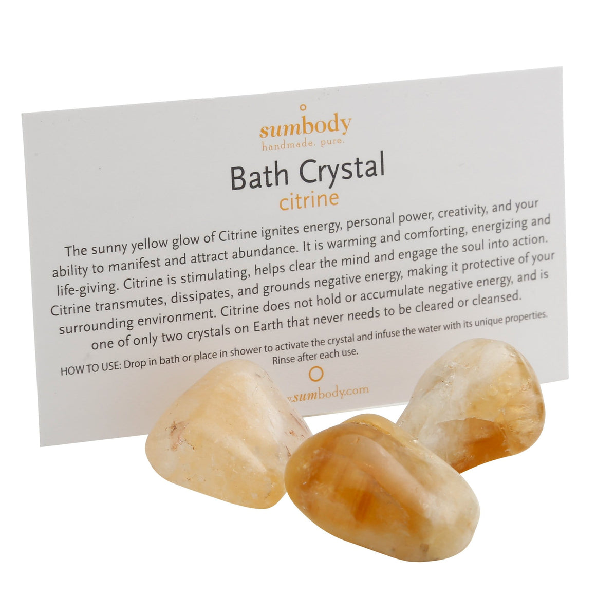 Citrine Bath Crystal