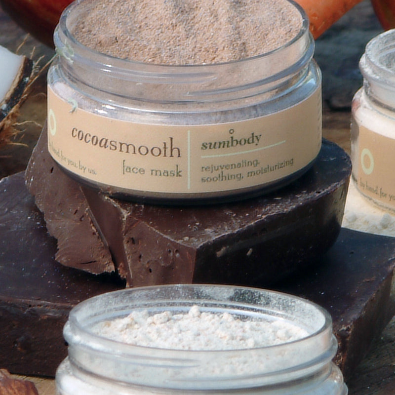 Cocoa Smooth Face Mask