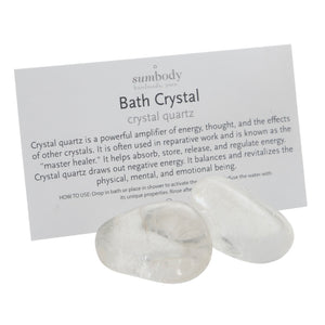 Crystal Quartz Bath Crystal