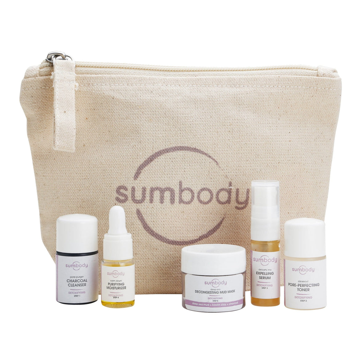 5 Steps to Perfect Skin Detoxifying Mini Kit