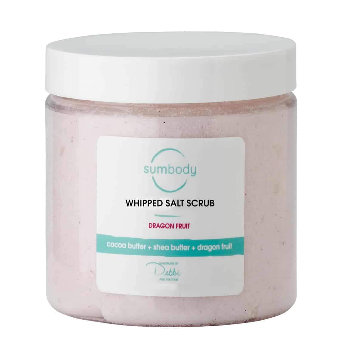 Dragon Fruit Whipped Salt Scrub