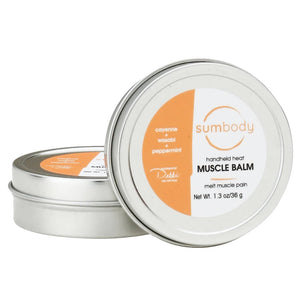 HandHeld Heat Muscle Balm Tin