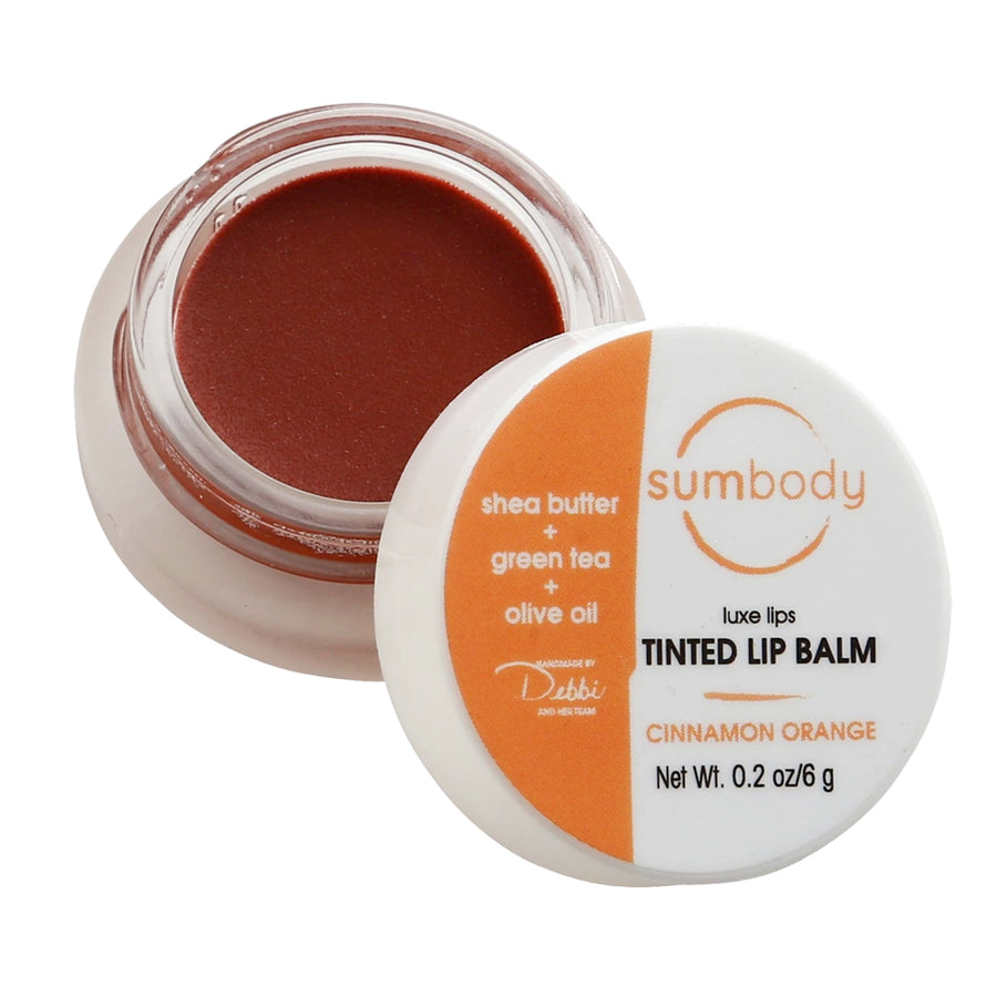 Luxe Lip Tint - Cinnamon Orange