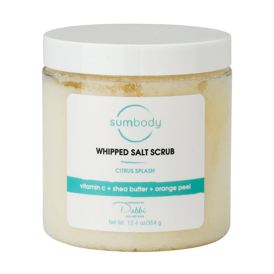 Citrus Splash Whipped Salt Scrub