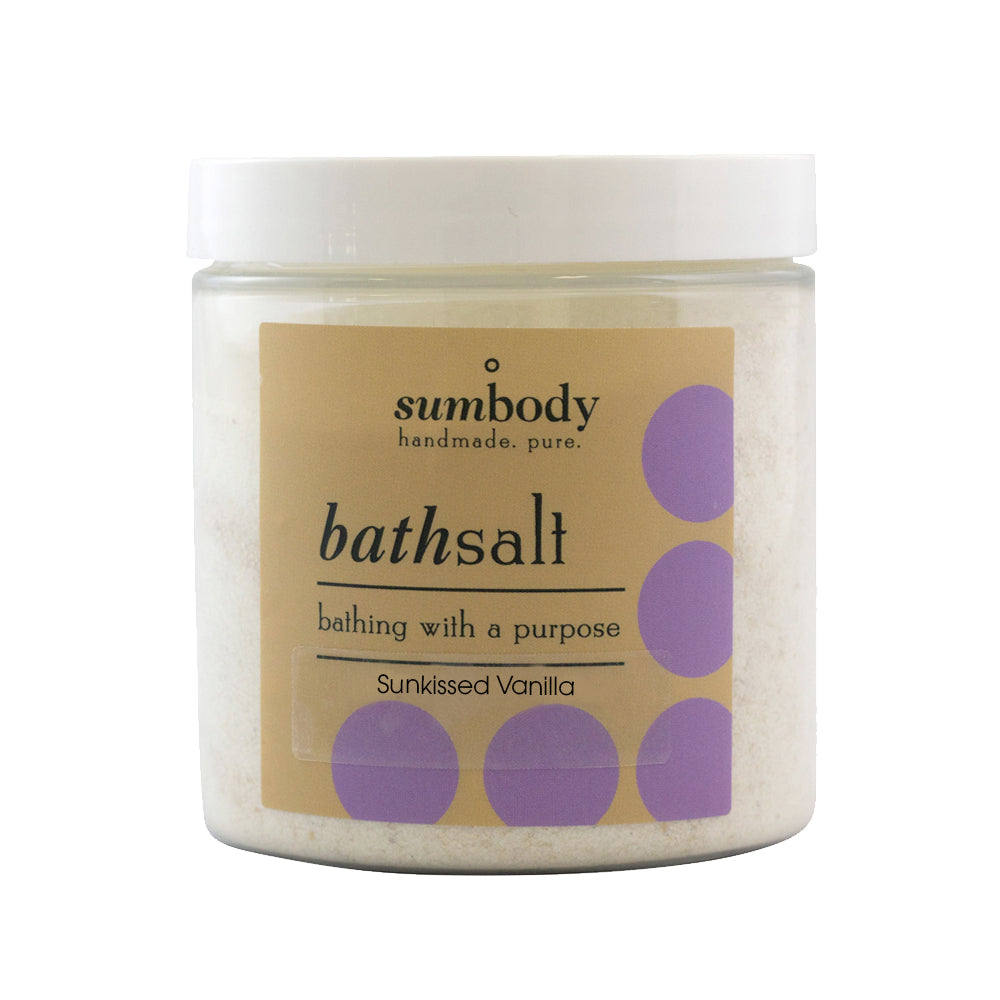 Sunkissed Vanilla (Milky Rich) bath salts