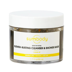 Save Me Honey Blemish-Busting Cleanser & Shower Mask