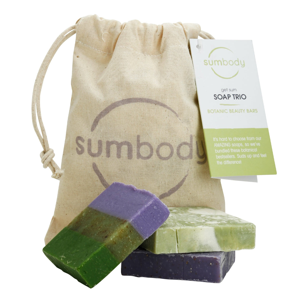 get sum Soap Trio – Botanic Beauty Bars