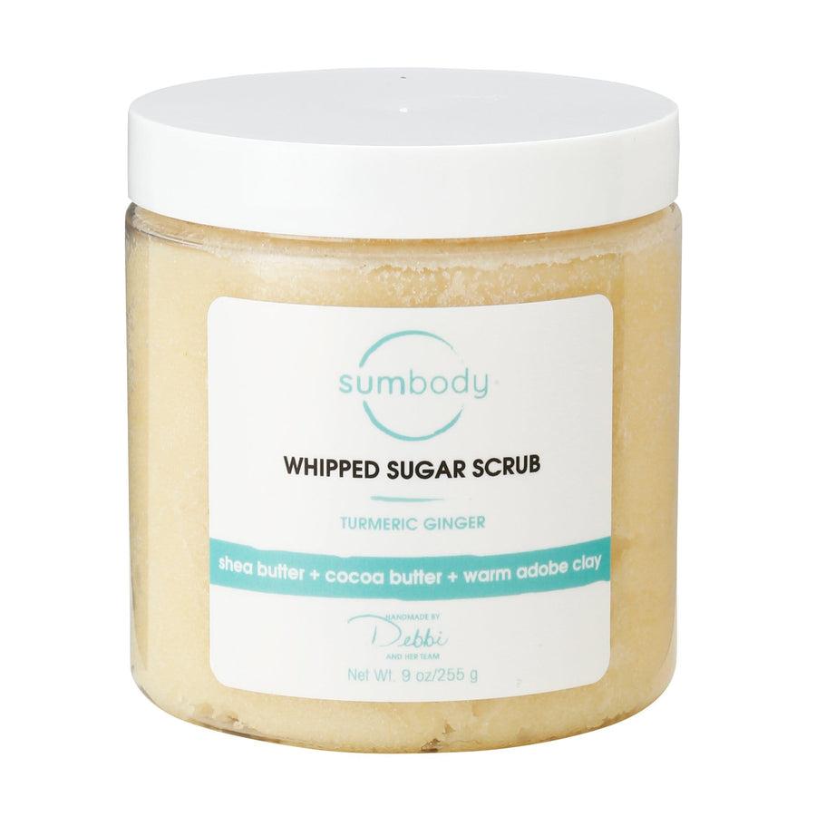 Turmeric Ginger Whipped Sugar Scrub