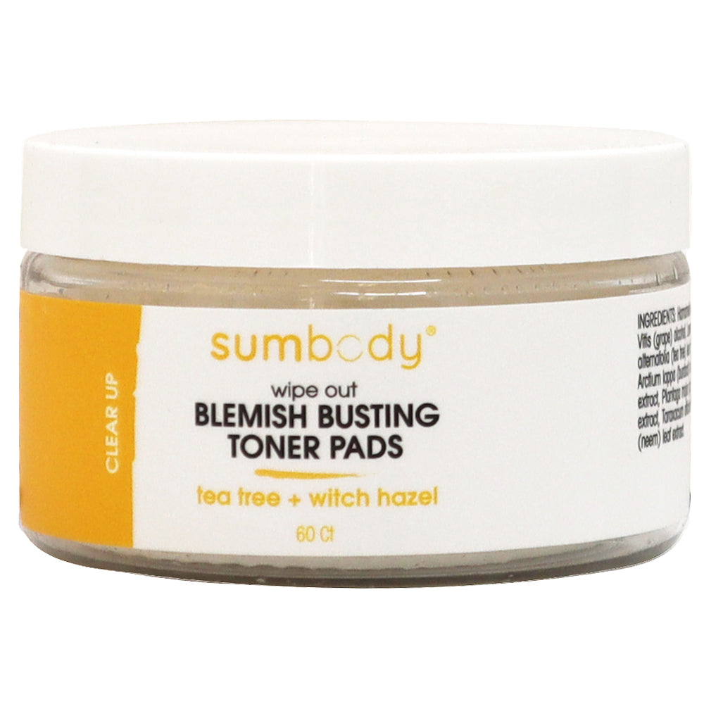 Wipe Out Blemish Busting Toner Pads 60 Ct