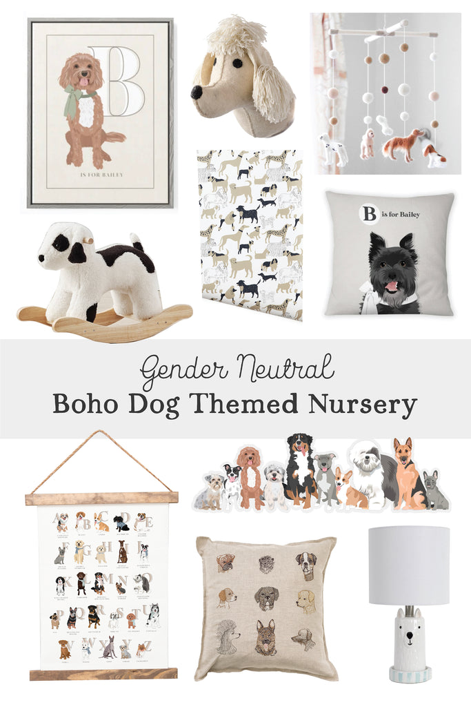 10 Ideas for a Dog Themed Gender Neutral Nursery