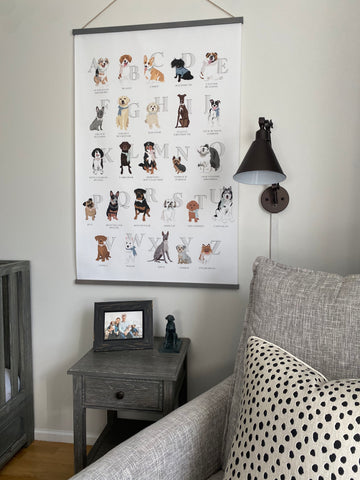 Dog Themed Gender Neutral Nursery Ideas