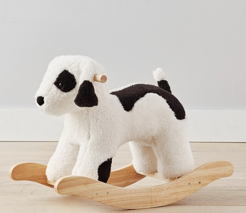 puppy rocker for dog nursery